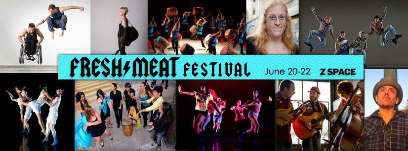 2013 Fresh Meat Festival banner